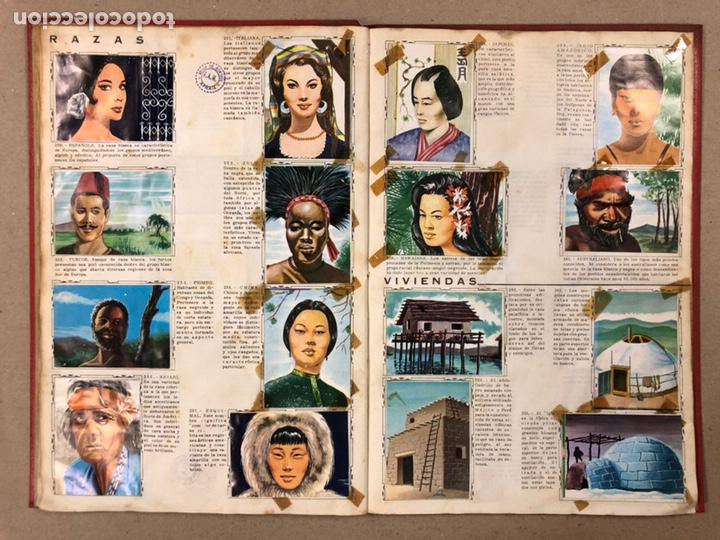 Coleccionismo Álbum: ÁLBUM ENCICLOPÉDICO DISGRA-FHER (1965). ÁLBUM DE CROMOS COMPLETO. - Foto 20 - 190481140