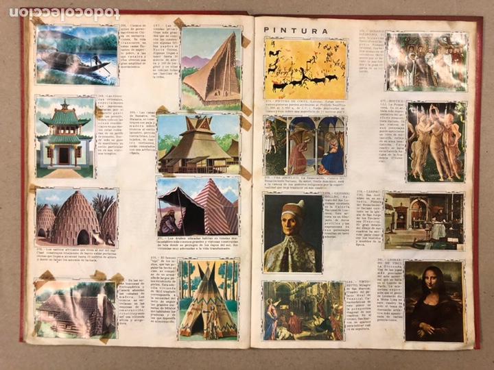 Coleccionismo Álbum: ÁLBUM ENCICLOPÉDICO DISGRA-FHER (1965). ÁLBUM DE CROMOS COMPLETO. - Foto 21 - 190481140
