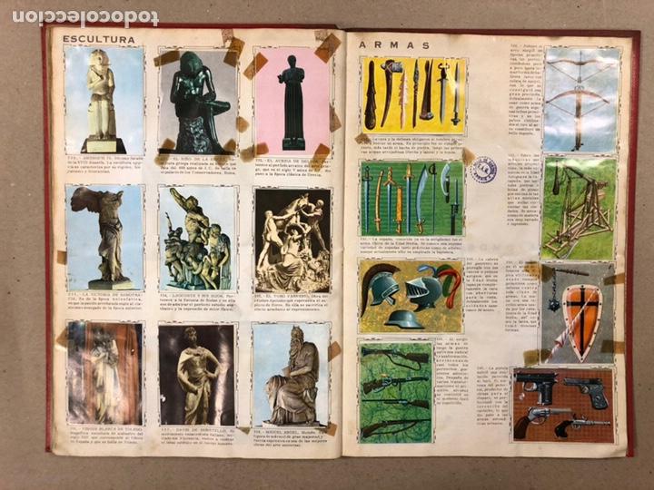 Coleccionismo Álbum: ÁLBUM ENCICLOPÉDICO DISGRA-FHER (1965). ÁLBUM DE CROMOS COMPLETO. - Foto 25 - 190481140