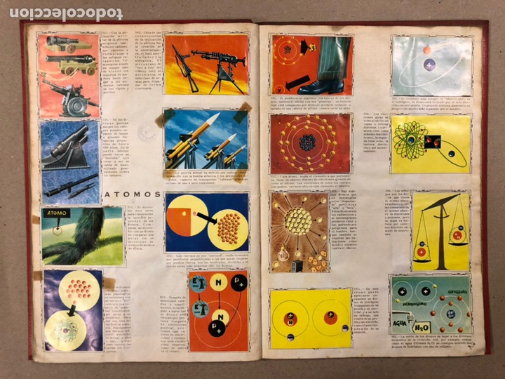 Coleccionismo Álbum: ÁLBUM ENCICLOPÉDICO DISGRA-FHER (1965). ÁLBUM DE CROMOS COMPLETO. - Foto 26 - 190481140