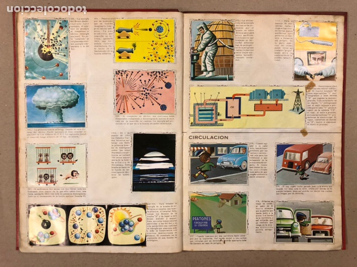 Coleccionismo Álbum: ÁLBUM ENCICLOPÉDICO DISGRA-FHER (1965). ÁLBUM DE CROMOS COMPLETO. - Foto 27 - 190481140
