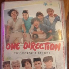 Coleccionismo Álbum: ONE DIRECTION - ALBUM COLLECTOR ' S BINDER - 90 PHOTOCARDS - PHOTOPRINTS - PANINI. Lote 190513028