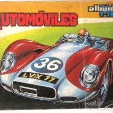 Coleccionismo Álbum: AUTOMOVILES - ALBUM MAGA - CROMOS - COMPLETO. Lote 190574153