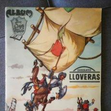 Coleccionismo Álbum: ALBUM DON QUIJOTE DE LA MANCHA CHOCOLATES LLOVERA COMPLETO EXCELENTE ESTADO. Lote 190591722