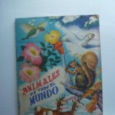Coleccionismo Álbum: ÁLBUM COMPLETO. ANIMALES DE TODO EL MUNDO. FHER. . Lote 190703907
