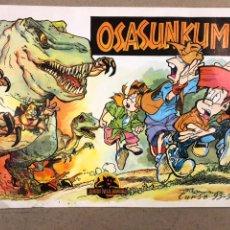 Coleccionismo Álbum: OSASUNKUME, JUNTOS EN LA AVENTURA. ÁLBUM DE CROMOS COMPLETO, CURSO 93-94.. Lote 190751082