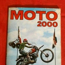 Coleccionismo Álbum: MOTO 2000 (1973) ALBUM COMPLETO - EDICIONES VULCANO PANINI (BUEN ESTADO) MOTOS ANGEL NIETO. Lote 190756616
