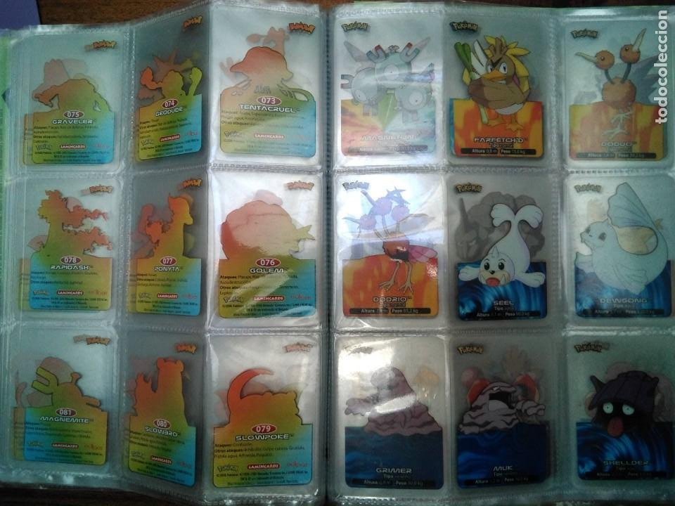 Coleccionismo Álbum: Album completo de Pokemon lamincards 2005 - Foto 2 - 144262580