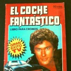 Coleccionismo Álbum: EL COCHE FANTASTICO (1982) ALBUM COMPLETO - EDICIONES COMIC-ROMO (DIFICIL) SERIE DE TELEVISION. Lote 190880172