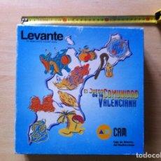 Coleccionismo Álbum: EL JUEGO DE LA COMUNIDAD VALENCIANA. DIARIO LEVANTE, CAM. 1996. COMPLETO.. Lote 190930973