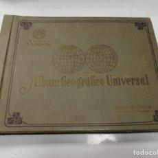 Coleccionismo Álbum: ALBUM GEOGRAFICO UNIVERSAL. CIGARROS LA CORONA. HABANA. COMPLETO. BUEN ESTADO. 1936. VER FOTOS.. Lote 191036217