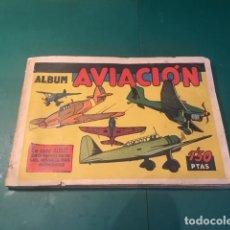 Coleccionismo Álbum: AVIACION.COMPLETO. Lote 191310092