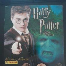 Coleccionismo Álbum: HARRY POTTER. Y LA ORDEN DEL FENIX. ALBUM COMPLETO. PANINI 2007. CROMOS PEGADOS. Lote 191331686