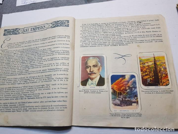 Coleccionismo Álbum: Albumes completo Cromos de Guerra Serie A y B 1945 dificil - Foto 3 - 191340910