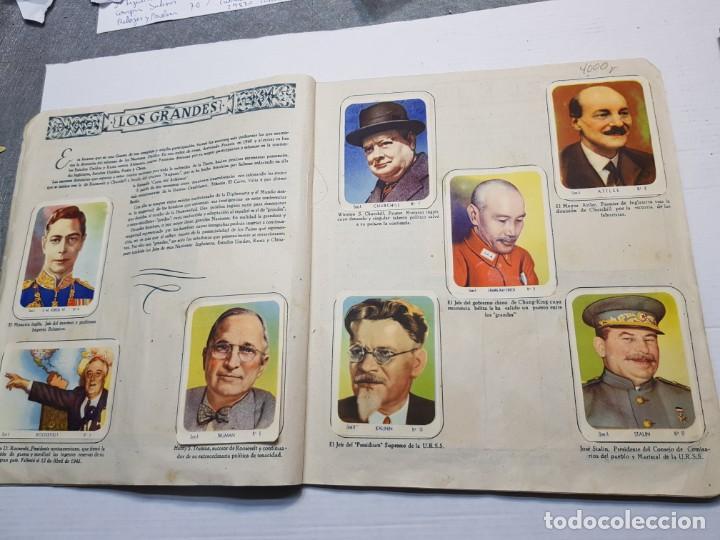 Coleccionismo Álbum: Albumes completo Cromos de Guerra Serie A y B 1945 dificil - Foto 4 - 191340910