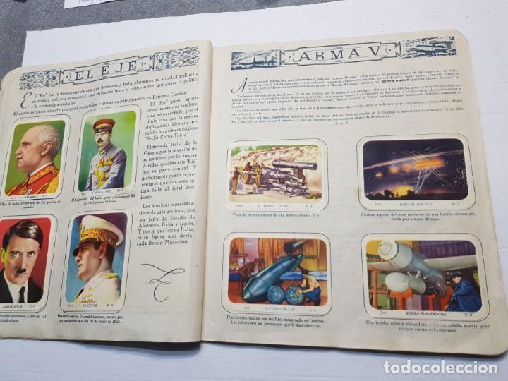 Coleccionismo Álbum: Albumes completo Cromos de Guerra Serie A y B 1945 dificil - Foto 5 - 191340910