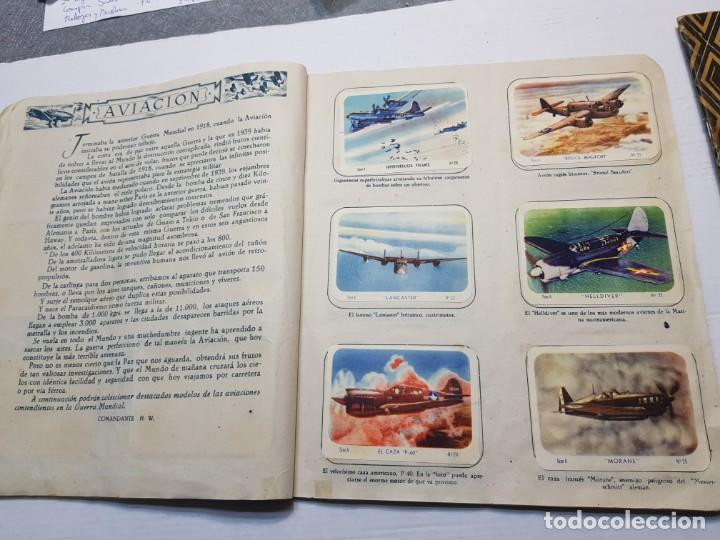 Coleccionismo Álbum: Albumes completo Cromos de Guerra Serie A y B 1945 dificil - Foto 6 - 191340910