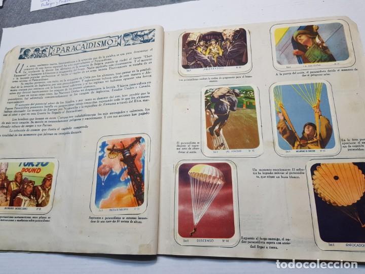 Coleccionismo Álbum: Albumes completo Cromos de Guerra Serie A y B 1945 dificil - Foto 8 - 191340910