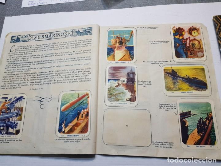 Coleccionismo Álbum: Albumes completo Cromos de Guerra Serie A y B 1945 dificil - Foto 11 - 191340910