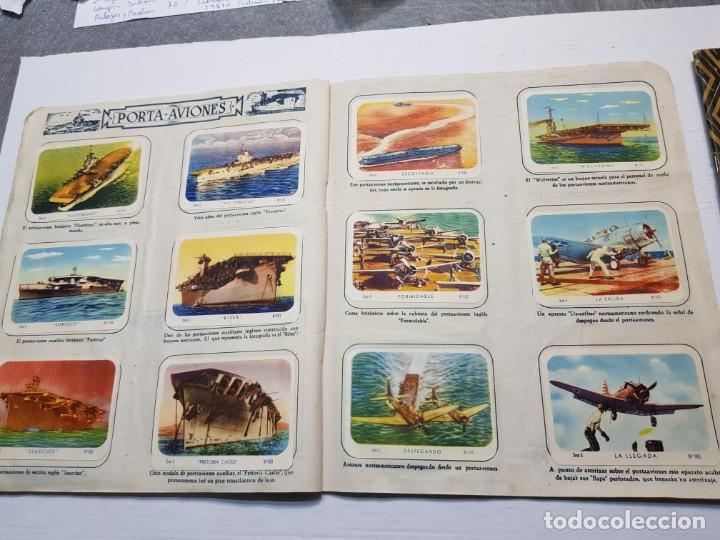 Coleccionismo Álbum: Albumes completo Cromos de Guerra Serie A y B 1945 dificil - Foto 17 - 191340910