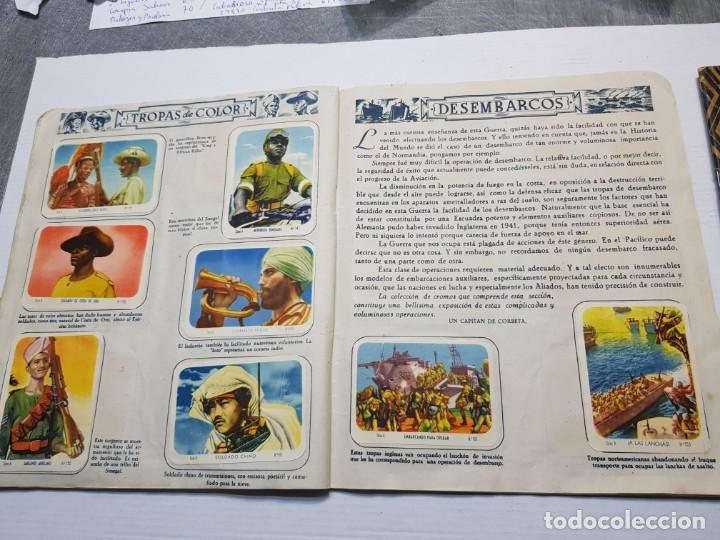 Coleccionismo Álbum: Albumes completo Cromos de Guerra Serie A y B 1945 dificil - Foto 18 - 191340910