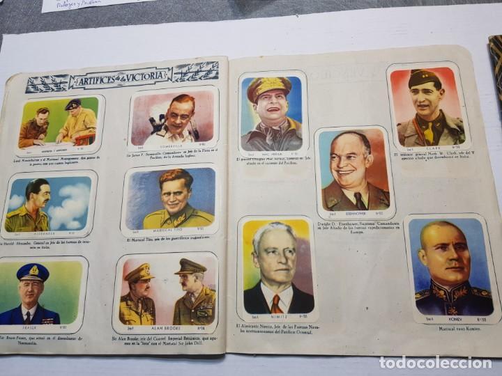 Coleccionismo Álbum: Albumes completo Cromos de Guerra Serie A y B 1945 dificil - Foto 22 - 191340910