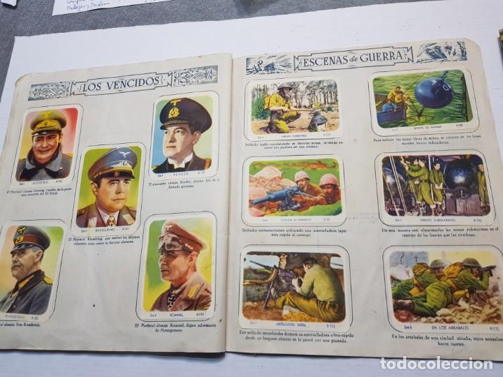 Coleccionismo Álbum: Albumes completo Cromos de Guerra Serie A y B 1945 dificil - Foto 23 - 191340910