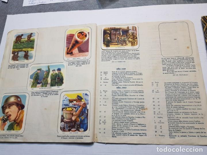 Coleccionismo Álbum: Albumes completo Cromos de Guerra Serie A y B 1945 dificil - Foto 25 - 191340910