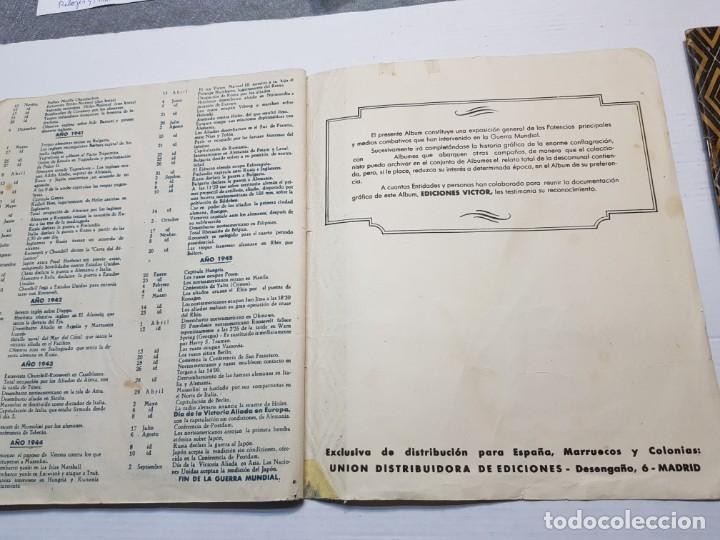 Coleccionismo Álbum: Albumes completo Cromos de Guerra Serie A y B 1945 dificil - Foto 26 - 191340910