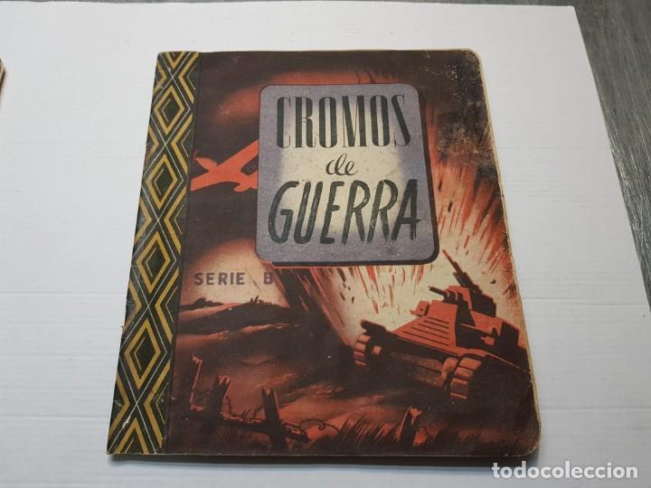 Coleccionismo Álbum: Albumes completo Cromos de Guerra Serie A y B 1945 dificil - Foto 28 - 191340910
