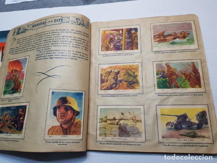 Coleccionismo Álbum: Albumes completo Cromos de Guerra Serie A y B 1945 dificil - Foto 30 - 191340910