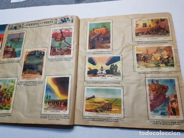 Coleccionismo Álbum: Albumes completo Cromos de Guerra Serie A y B 1945 dificil - Foto 32 - 191340910