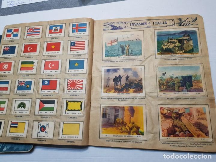 Coleccionismo Álbum: Albumes completo Cromos de Guerra Serie A y B 1945 dificil - Foto 37 - 191340910