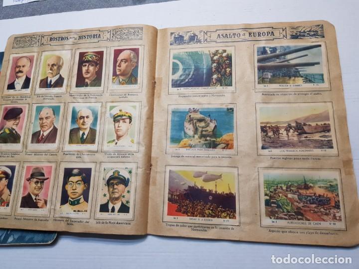 Coleccionismo Álbum: Albumes completo Cromos de Guerra Serie A y B 1945 dificil - Foto 38 - 191340910