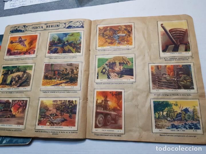 Coleccionismo Álbum: Albumes completo Cromos de Guerra Serie A y B 1945 dificil - Foto 39 - 191340910