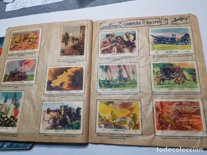 Coleccionismo Álbum: Albumes completo Cromos de Guerra Serie A y B 1945 dificil - Foto 40 - 191340910