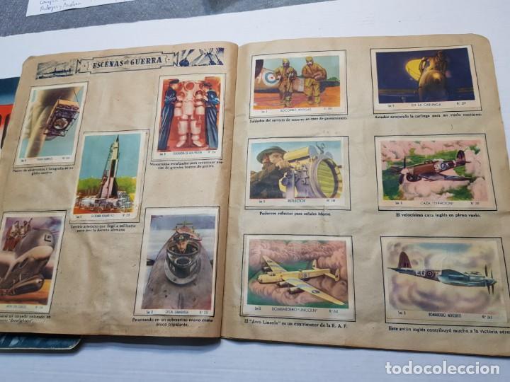 Coleccionismo Álbum: Albumes completo Cromos de Guerra Serie A y B 1945 dificil - Foto 43 - 191340910