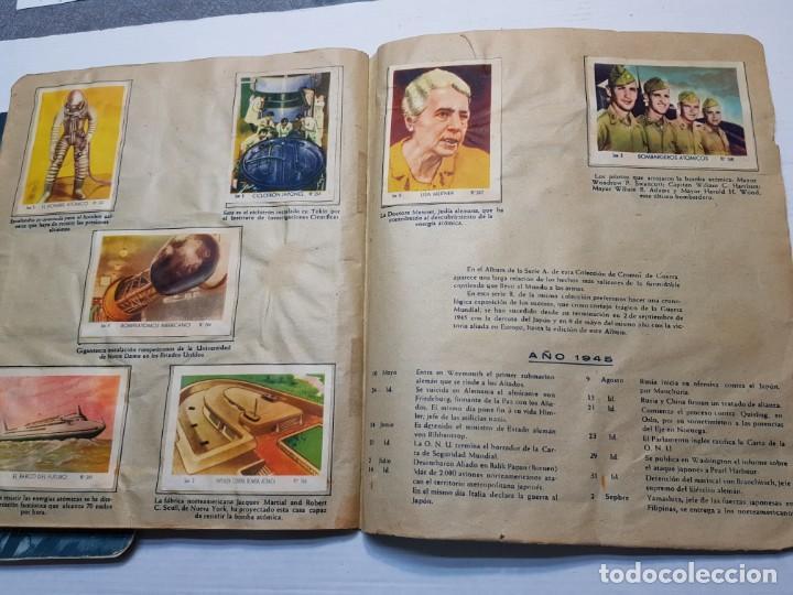 Coleccionismo Álbum: Albumes completo Cromos de Guerra Serie A y B 1945 dificil - Foto 46 - 191340910