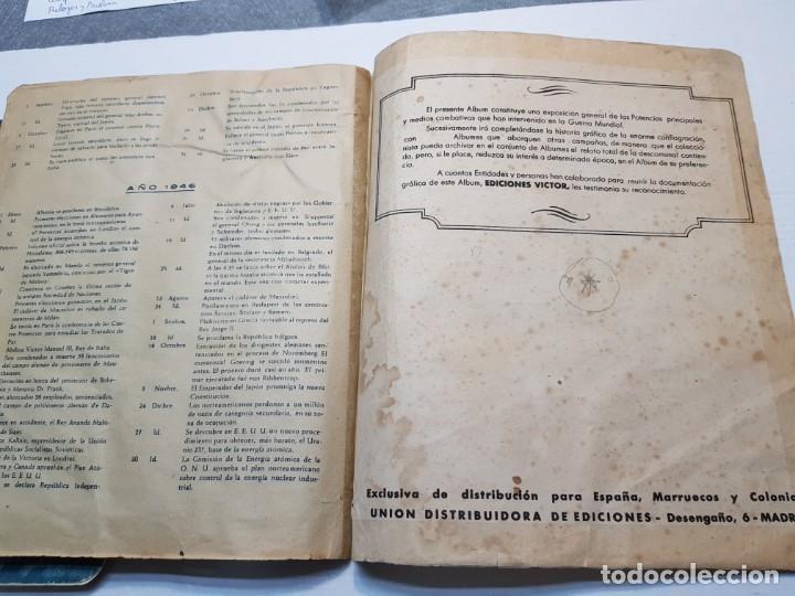 Coleccionismo Álbum: Albumes completo Cromos de Guerra Serie A y B 1945 dificil - Foto 47 - 191340910