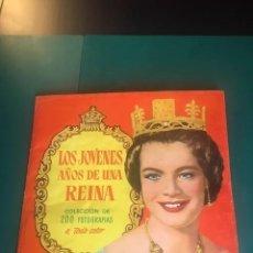 Coleccionismo Álbum: LOS JOVENES AÑOS DE UNA REINA. COMPLETO. . Lote 191394531