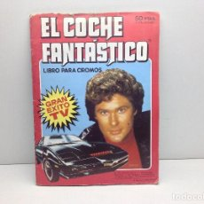 Coleccionismo Álbum: ALBUM DE CROMOS EL COCHE FANTASTICO - COMPLETO. Lote 191486526