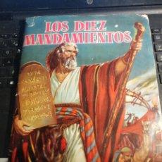 Coleccionismo Álbum: ÀLBUM DE CROMOS LOS DIEZ MANDAMIENTOS COMPLETO. Lote 191493905