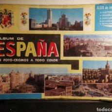 Coleccionismo Álbum: ALBUM DE ESPAÑA EN FOTO-CROMOS COMPLETO. Lote 191570017