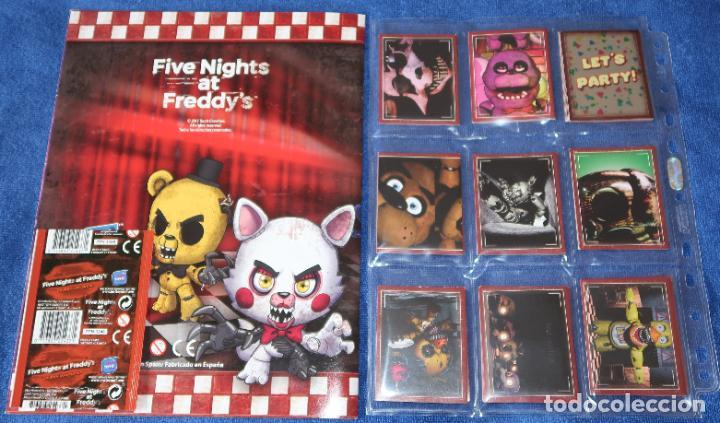 Coleccionismo Álbum: Five Nights at Freddys - Just Toys ¡Colección completa sin pegar! - Foto 2 - 191850196
