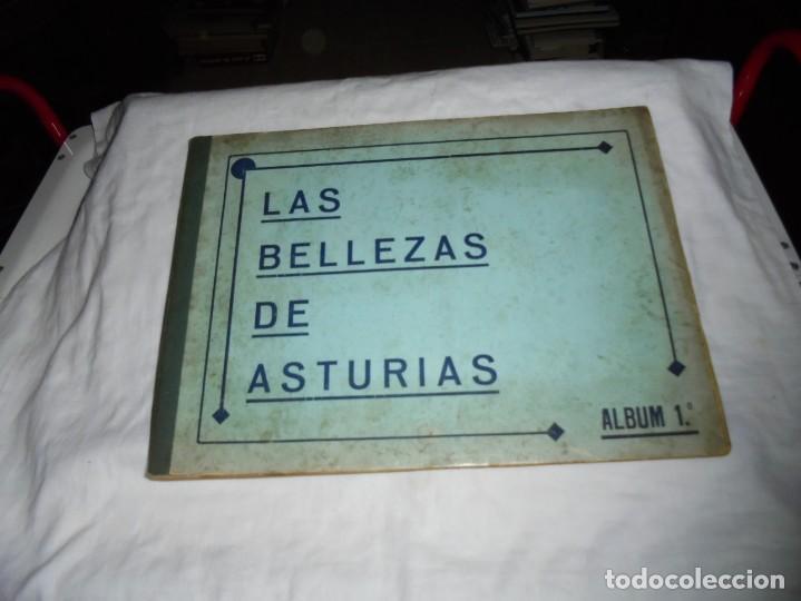 ALBUM Nº 1.LAS BELLEZAS DE ASTURIAS.JUAN GIL CANELLAS.OVIEDO 1933.-COMPLETO (Coleccionismo - Cromos y Álbumes - Álbumes Completos)