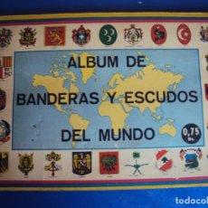 Coleccionismo Álbum: (AL-200120)ALBUM COMPLETO BANDERAS Y ESCUDOS DEL MUNDO. Lote 192204458