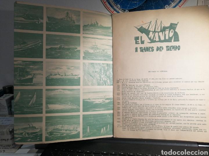 Coleccionismo Álbum: Àlbum de cromos completo EL NAVIO A TRAVES DEL TIEMPO - Foto 2 - 192462661