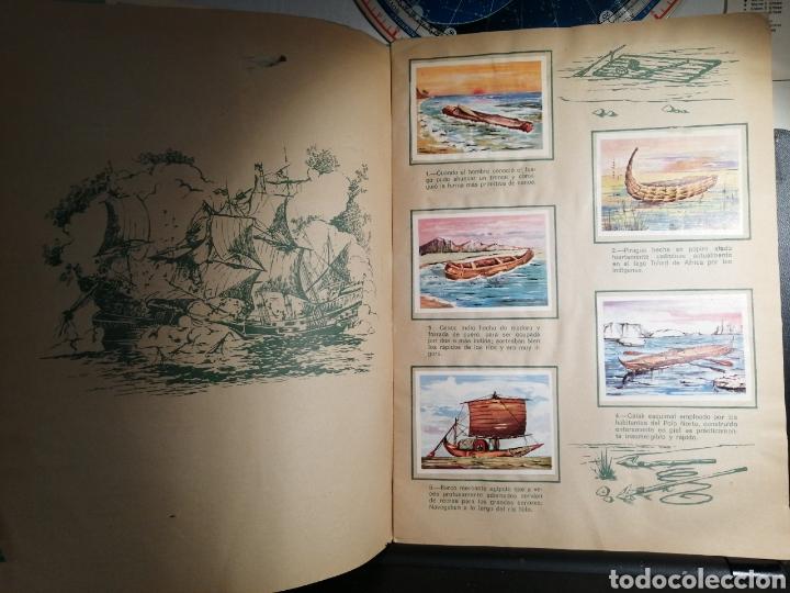 Coleccionismo Álbum: Àlbum de cromos completo EL NAVIO A TRAVES DEL TIEMPO - Foto 3 - 192462661