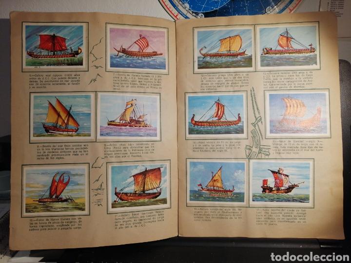 Coleccionismo Álbum: Àlbum de cromos completo EL NAVIO A TRAVES DEL TIEMPO - Foto 4 - 192462661