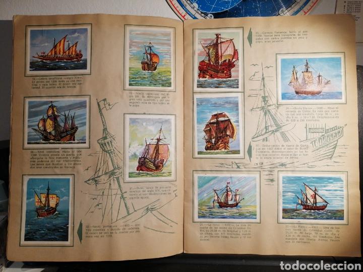 Coleccionismo Álbum: Àlbum de cromos completo EL NAVIO A TRAVES DEL TIEMPO - Foto 5 - 192462661
